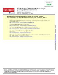 DOI: 10.1126/science.1131370 , 1464 (2006); 314 Science et al ...