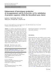 Enhancement of heterologous production of eicosapentaenoic acid ...