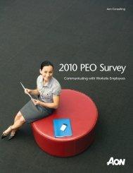 2010 PEO Survey - Aon