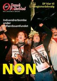 Indvandrerbombe under velfærdssamfundet ... - Dansk Folkeparti