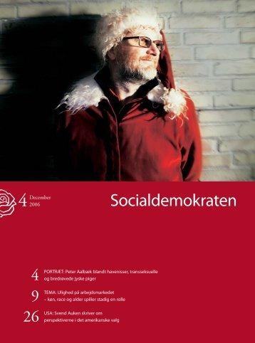 Socialdemokraten december 2006 - Hanne Skovby