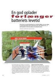 En god oplader batteriets levetid