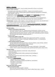 Přednáška č.6 - FSv ČVUT -- People