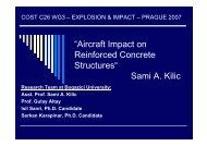 """""""Aircraft Impact on Reinforced Concrete Structures"""" Sami A. Kilic"""