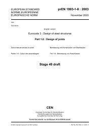 prEN 1993-1-8 : 2003 Stage 49 draft CEN - FSv ČVUT -- People