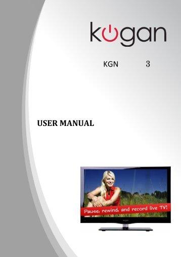 110 free magazines from cdn kogan com au rh yumpu com Instruction Manual Instruction Manual
