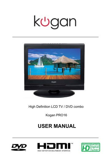 "kogan 19 tv manual product user guide instruction u2022 rh testdpc co Panasonic 50"" Plasma Panasonic HDTV 1080I BBE"