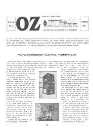 Kortbølgestation OZ7KG, København. - Søg i OZ