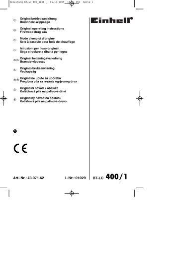 Anleitung BT-LC 400_SPK1:_