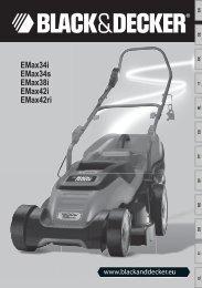 EMax34i EMax34s EMax38i EMax42i EMax42ri - Black & Decker