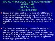 Literature Review Guidelines - Ship