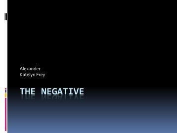 The Negative - Ship