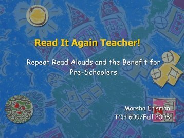 Read It Again Teacher! - Ship