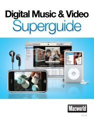 Macworld Digital Music & Video Superguide