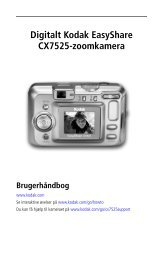 Digitalt Kodak EasyShare CX7525-zoomkamera