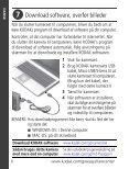 Fastgør remmen, oplad batteriet - Kodak - Page 6