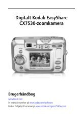Digitalt Kodak EasyShare CX7530-zoomkamera