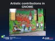 Artistic contributions in GNOME - gnome.org