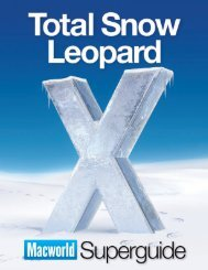 Total Snow Leopard Superguide - Macworld