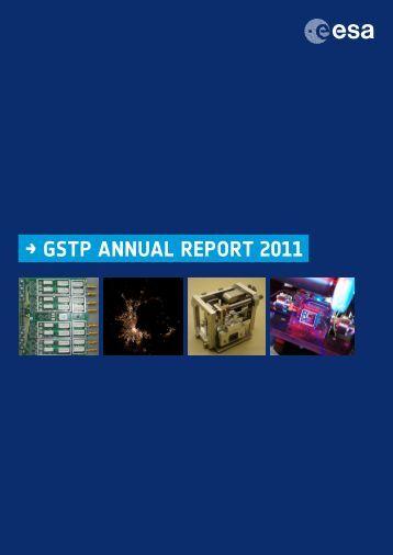 → GSTP ANNUAL REPORT 2011 - ESA