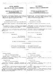 wetten, decreten, besluiten en akten van de regering - ESA