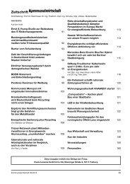 Zeitschrift - Kommunalverlag