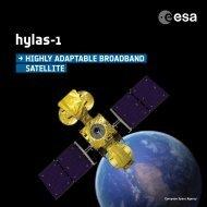 Hylas-1 brochure (PDF) - ESA