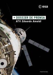 → DOSSIER DE PRENSA - ESA