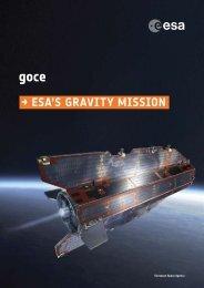 ESA BR-285 GOCE - ESA's Gravity Mission