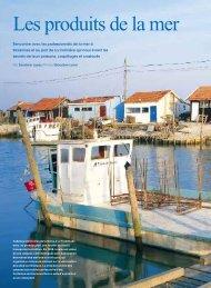 Les produits de la mer - L'Actualité Poitou-Charentes