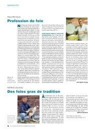 profession de foie des foies gras de tradition - L'Actualité Poitou ...