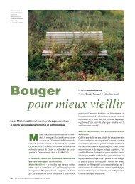 bouger pour mieux vieillir - L'Actualité Poitou-Charentes