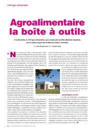 Agroalimentaire la boîte à outils - L'Actualité Poitou-Charentes