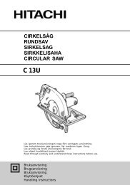 cirkelsåg rundsav sirkelsag sirkkelisaha circular saw - Hitachi Power ...