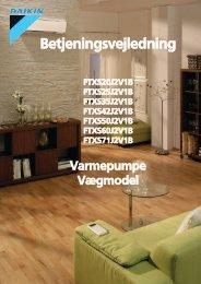 Download manualen her - Velkomme til varmepumpemanualer.dk