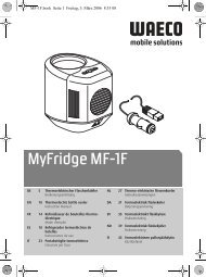 MyFridge MF-1F - Autoteilemann
