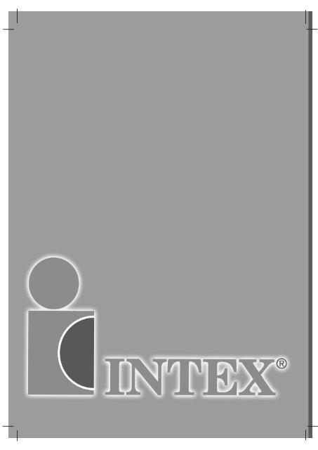 Hent vejledning i PDF format - Intex Nordic