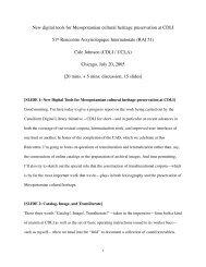 talk - CDLI - UCLA