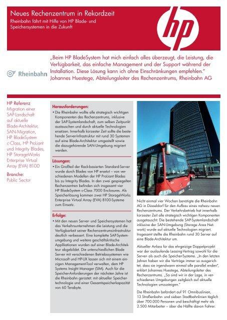 Referenz lesen (.pdf) - HP