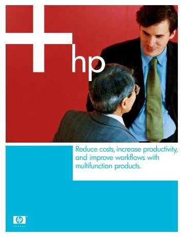 Reduce costs, increase productivity, and improve workflows - Large ...
