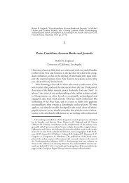 PDF copy - Cuneiform Digital Library Initiative - UCLA