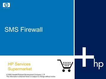 SMS Firewall - HP