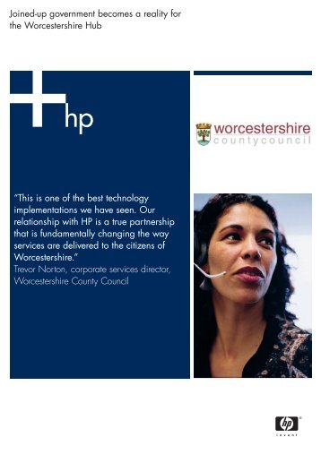 Worcestershire County Council (PDF, 1.6MB) - HP