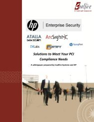 Solutions to Meet Your PCI Compliance Needs - Large Enterprise ...