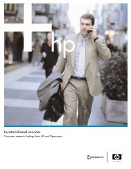 Location-based services - HP