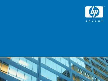 Meeting the collaboration imperative - Large Enterprise Business - HP