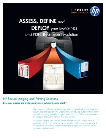 HP Secure Imaging and Printing Solutions - Large Enterprise ...