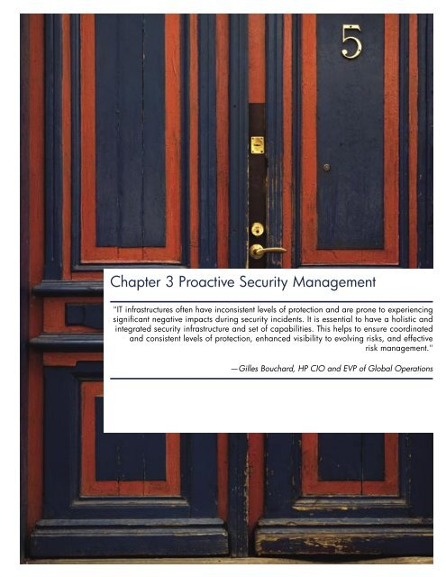 Proactive Security Management - Large Enterprise Business - HP