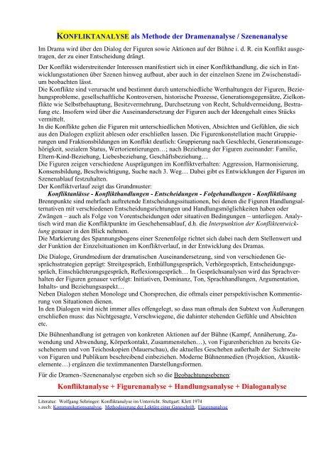 Anwendung Der Dialoganalyse Nach Gerd Fritz