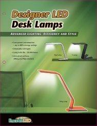 Designer LED Desk Lamps - Apclife.com